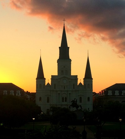 Sunset at the Cathedral