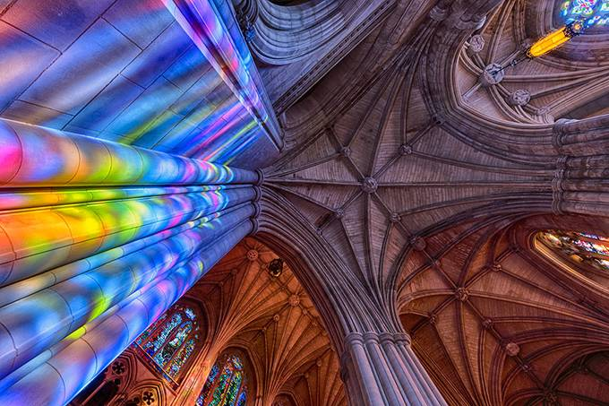 Cathedral Ceiling by beamieyoung - High Ceilings Photo Contest