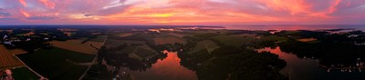 Sunset over the Potomac