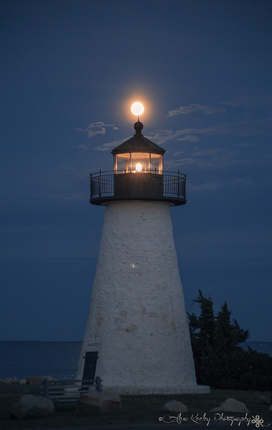 Moonlit Lighthouse by keeley15lf - Circle Games Photo Contest