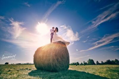Beautiful country wedding in Saskatchewan