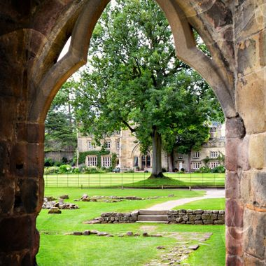 Photo taken at Bolton Abbey Yorkshire UK.