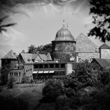 Sababurg in Black & White.