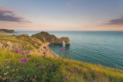 My first Durdle Door image. I have been shooting for a couple of years now, and although i only live an hour away from this iconic landmark, i have never been to photograph it. So July 2018 inout this right. Sunset was looking to shape up well for me this