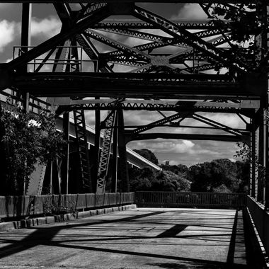 Lake Monroe Old Bridge MONO