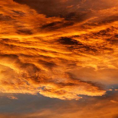 061817 Sunset in Backyard