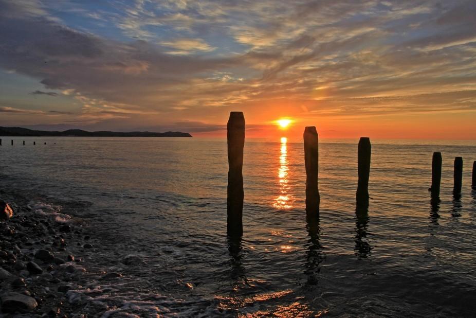 llandulas sunset