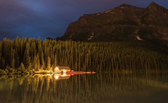 Boat House by KGSPhoto - Spectacular Lakes Photo Contest