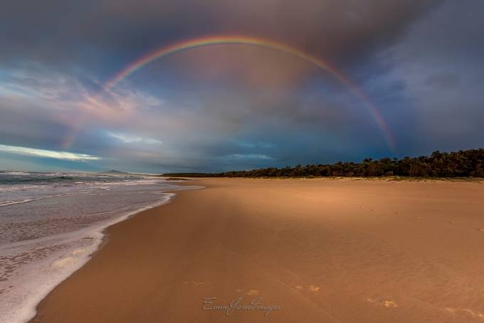 Rainbow at Tuckers by EmmJane - Rainbows Overhead Photo Contest