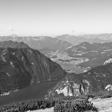 I took this photo when me and family were traveling in Austria, in the year 2016. We went up the Dachstein Mountains which were towering over the Hallstatt lake.