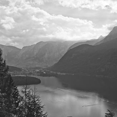 I took this photo when me and family were traveling in Austria, in the year 2016. We stayed by the lake in Hallstatt. One day we decided to walk up the hill above the town and take some photographs. This was one of the photographs that I took that day.