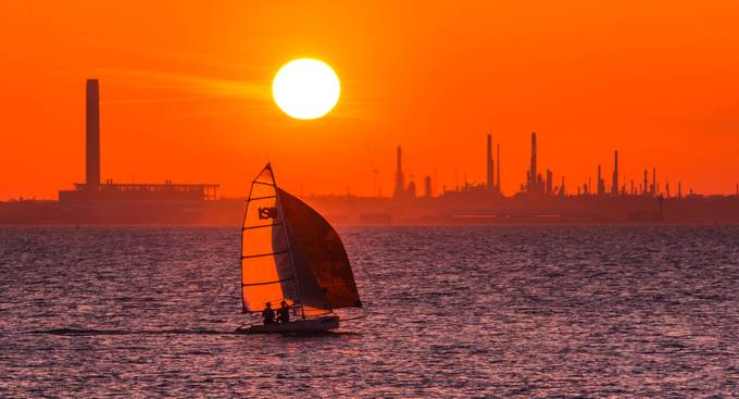 Fawley Sails by jasongines - Industry Photo Contest