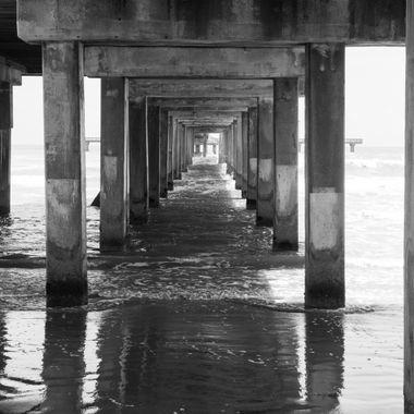Galveston Seawall Pier