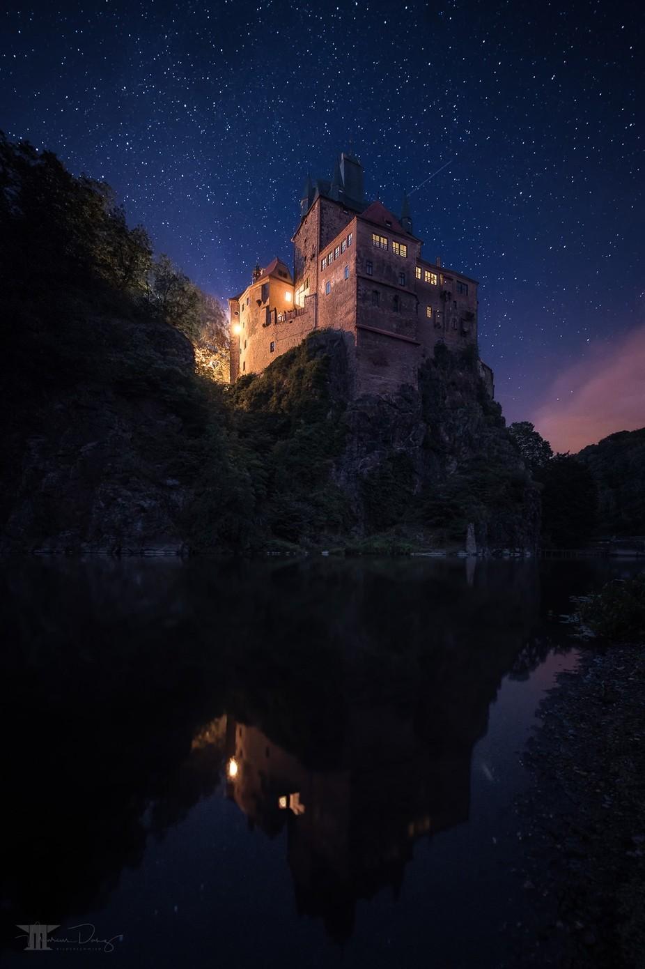 Castle Kriebstein under the stars by Bilderschmied-Danz - Night Wonders Photo Contest