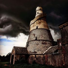 Taken at the Wonderful Barn in Ireland beneath stormy skies