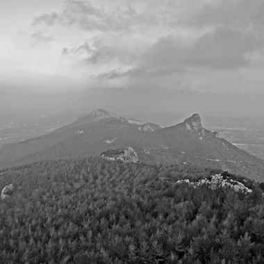 This photo was taken when I took my photography students to the Kantara Castle, on the Kyrenia Mountains, in the year 2015. Later, I converted this photo to black and white.