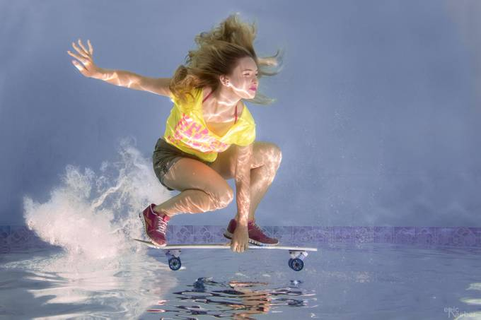 Skate on by eraeber - People And Water Photo Contest 2017