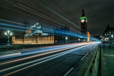 Jo Stokes Photography - Westminster Bridge Long Exposure Night Photography