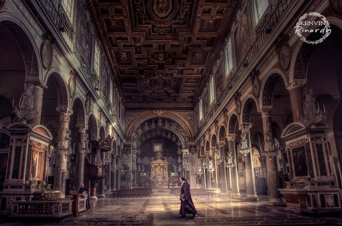 walking silence by kenvinpinardy - High Ceilings Photo Contest