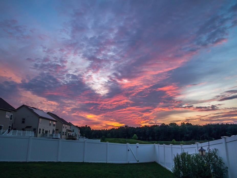 August sunrise #1