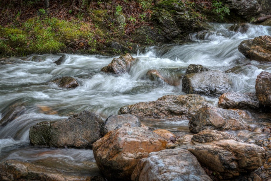 This shot was taken just below the Little Missouri Falls near Mena, Arkansas.