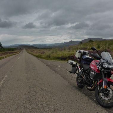 Straight ahead .................
