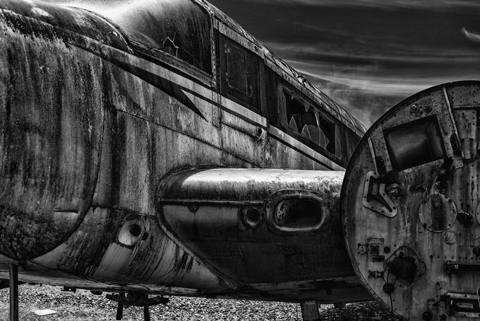Junk Airplane by sockeblu2 - Aircraft Photo Contest