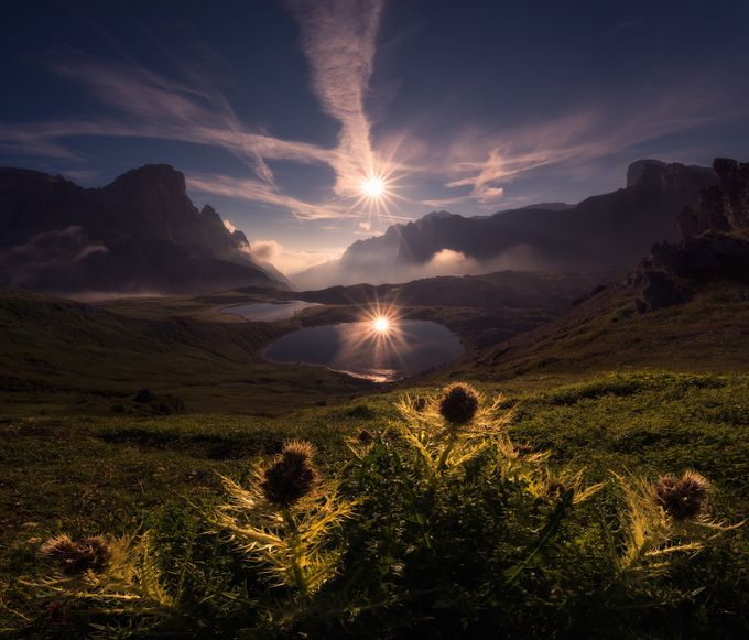 Double Sunstar by arpandas - Compositions 101 Photo Contest vol4