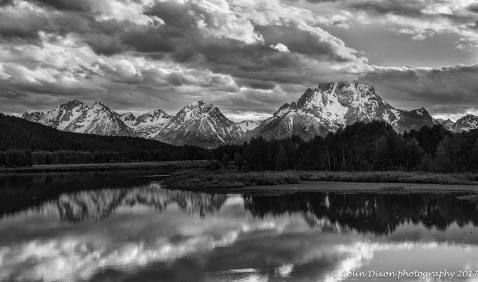 Oxbow Bend  by ColinDixonPhotography - Black And White Landscapes Photo Contest