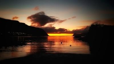 SUNSET in LANGEVAAG