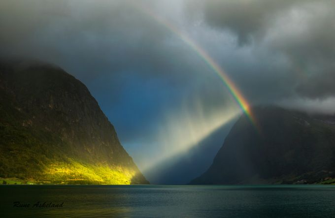 Spotlight by runeaskeland - Rainbows Overhead Photo Contest
