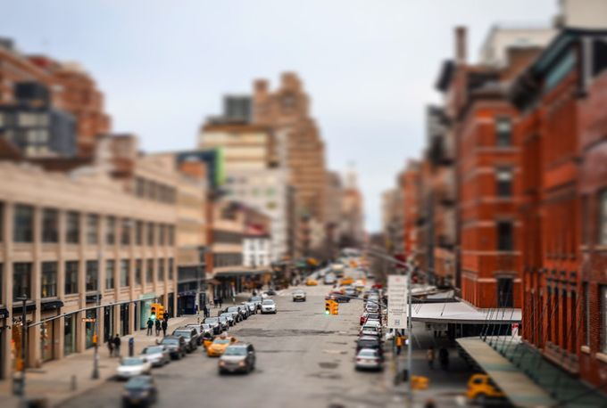 In NYC by kierandurrantphotography - TiltShift Effect Photo Contest