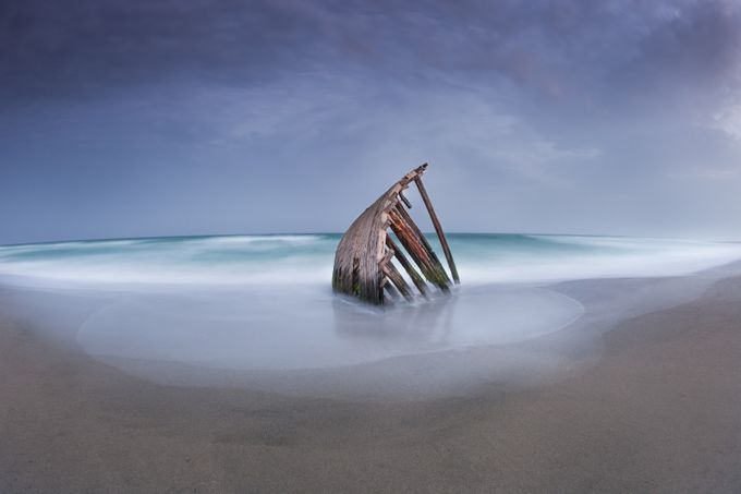 Wreck by ClearBluePhoto - Fish Eye And Wide Angle Photo Contest