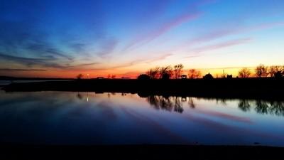 Sunset at Milford Lake