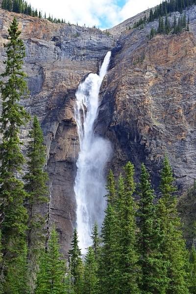 Takakkaw Falls. Yoho National Park British Columbia Canada