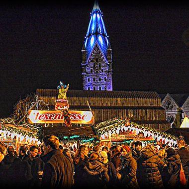 Paderborn Xmas Market in HDR.