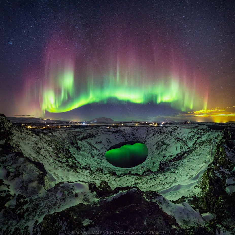 The Crater by SiggiPhoto - Nature And The Night Photo Contest