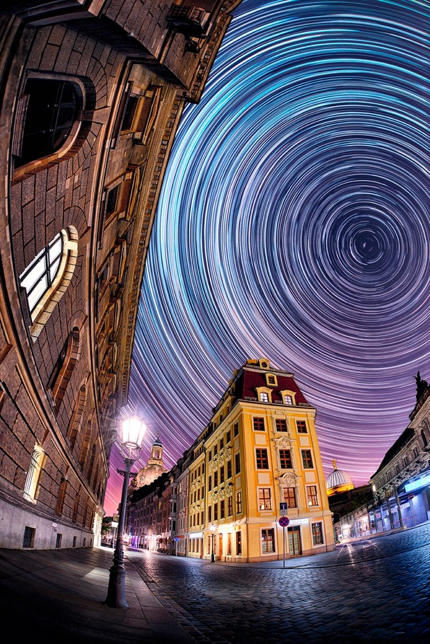 dark sky city Dresden by photo-bloom - My Favorite City Photo Contest