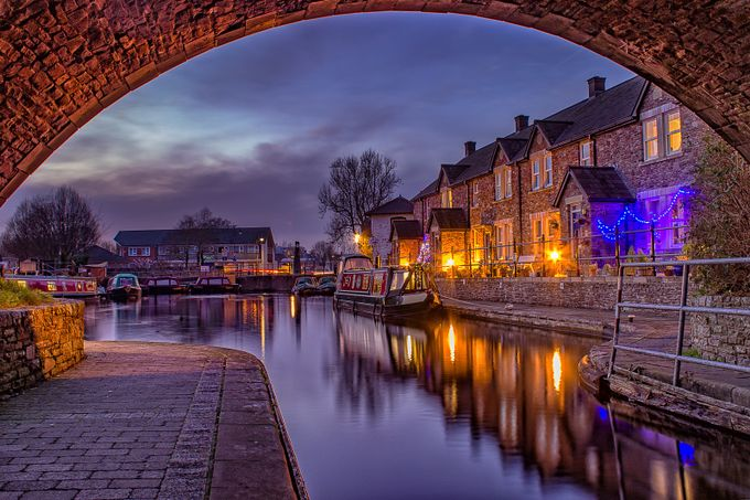 Canal Wharf, Brecon - HDR by Paul-Stapleton - Canals Photo Contest