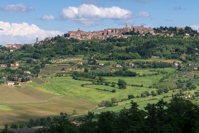 View of Montepulciano