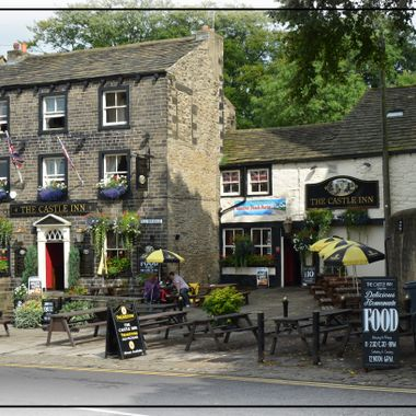 The Castle Inn at Skipton, Yorkshire.