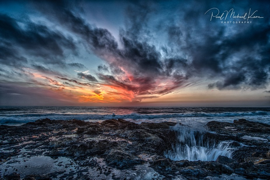 Near Cape Perpetua, Oregon lies one of the most insanely majestic natural wonders in all of Ameri...