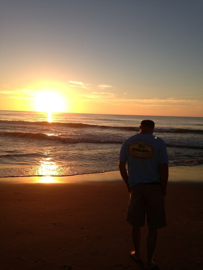 My loves, my hubby and the beach!