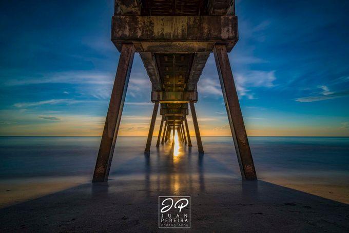 Vero Beach Pier by juanpereira - The View Under The Pier Photo Contest