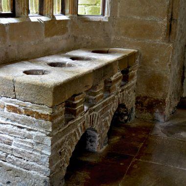 Medievil Oven at Skipton Castle , Yorkshire UK.