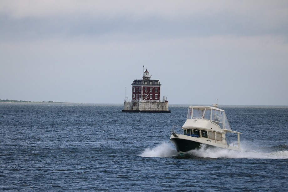 One of the Lighthouses on the New London, Connecticut coastline