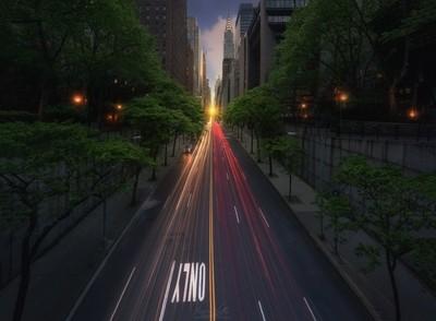 Road to Manhattanhege