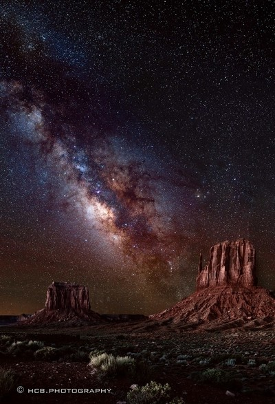 Milky Way in Monument Valley
