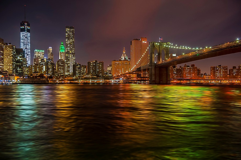 Another of my NYC Architecture Series, this time with the Brooklyn Bridge and lower Manhattan.  T...