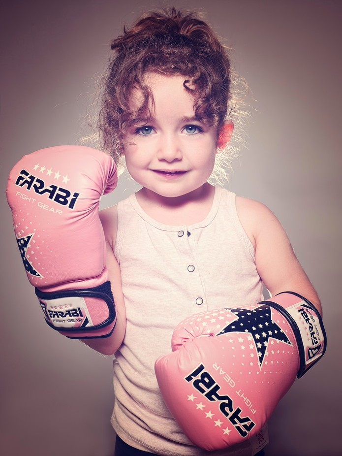 fighter by genevievelapointe - Gloves Photo Contest